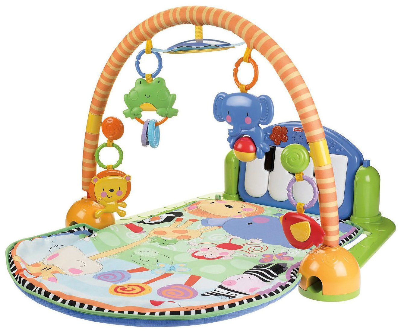 Fisher Price Discover N Grow Kick Play Piano Gym Best Price