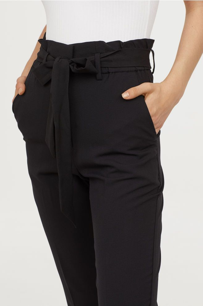 Black Pants For Ladies