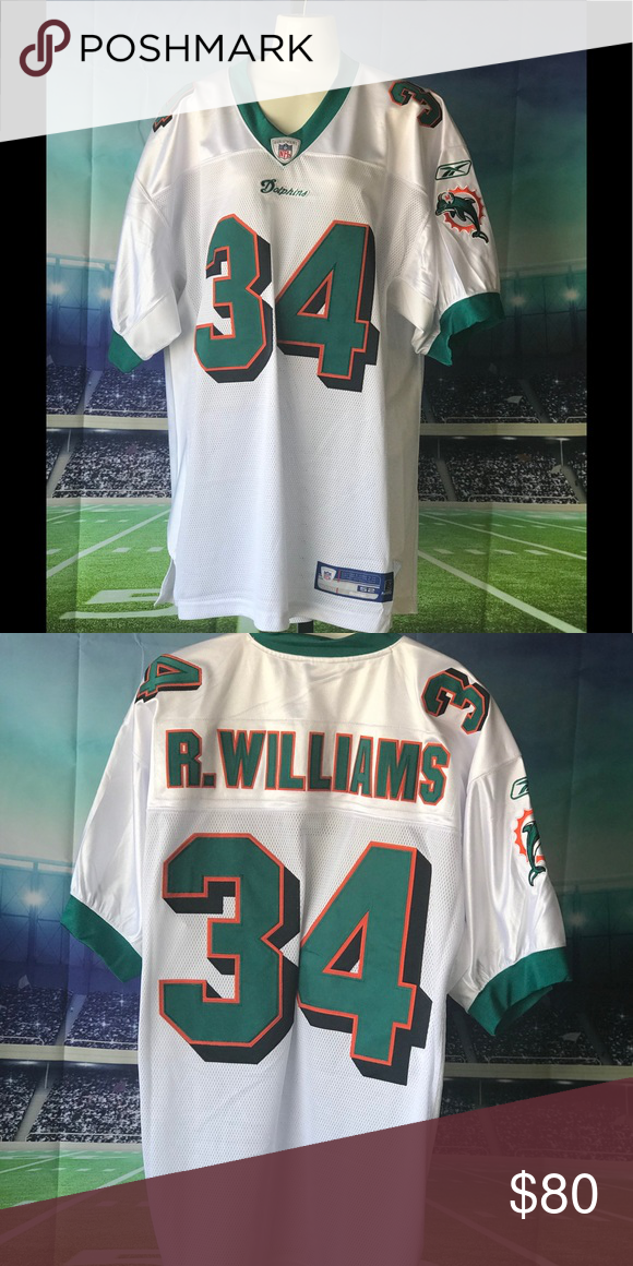 quality design b49b4 ba5c2 Ricky Williams Throwback New and authentic with tags Ricky ...