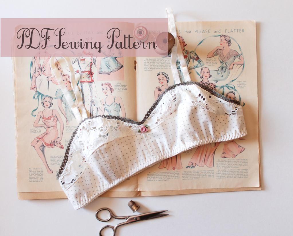 Ohhh lulu 1301 bambi soft bra bra pattern sewing patterns and ohhh lulu 1301 by ohhhlulu sewing pattern looking for your next jeuxipadfo Images