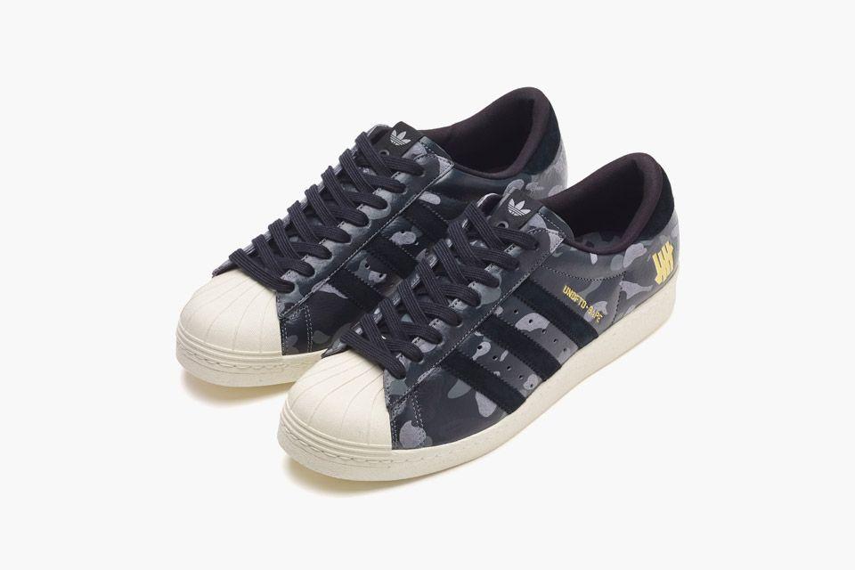 BAPE x Undefeated x adidas Superstar 80s