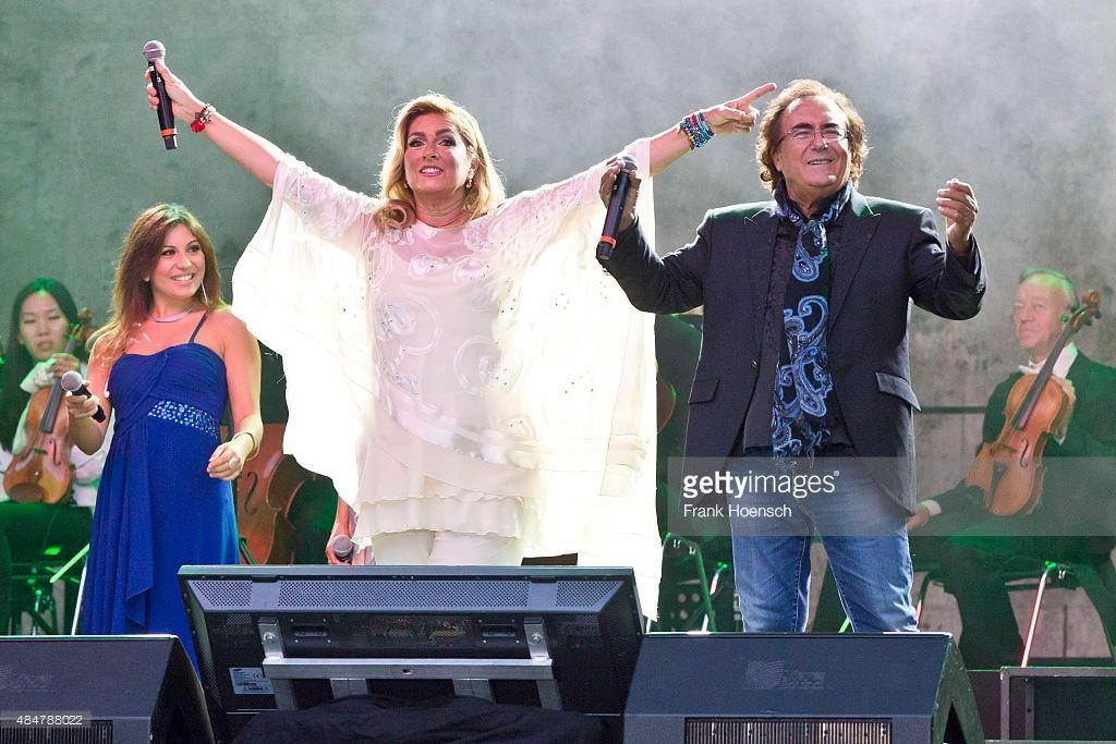 Al Bano Romina Power Perform In Berlin Al Bano Romina Power In