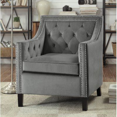 Best Charlton Home Dostie Armchair Woven Dining Chairs Gray 400 x 300