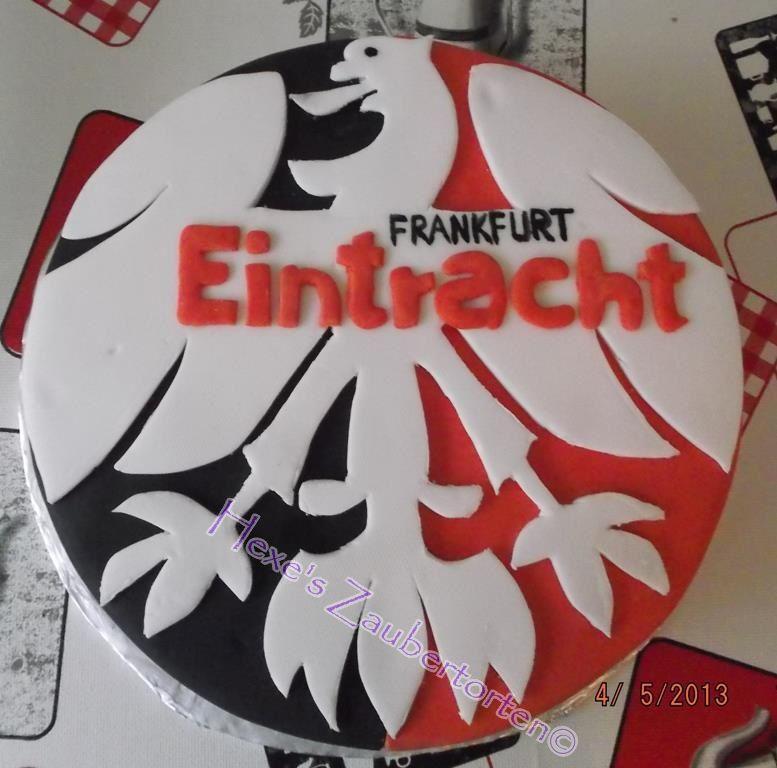 Eintracht torte 1 meine geburtstagstorten f r erwachsene for Kuchen frankfurt