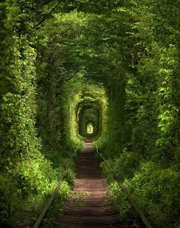 Love Tunnel, Klevan, Ukraine