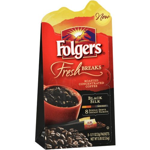 FREE SAMPLE of Folgers Fresh Breaks™ roasted concentrated coffee - free mail sample