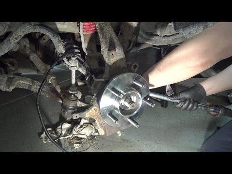 19972004 Ford F150 Front Wheel Bearing Replacement