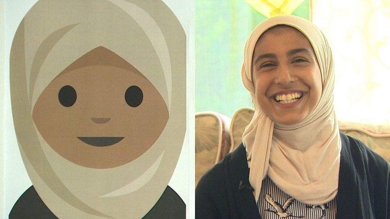 شركة أبل تطور إيموجي الفتاة المحجبة استجابة لطلب السعودية ريوف الحميضي نيوتك New Tech Friend Pictures Emoji Characters Emoji