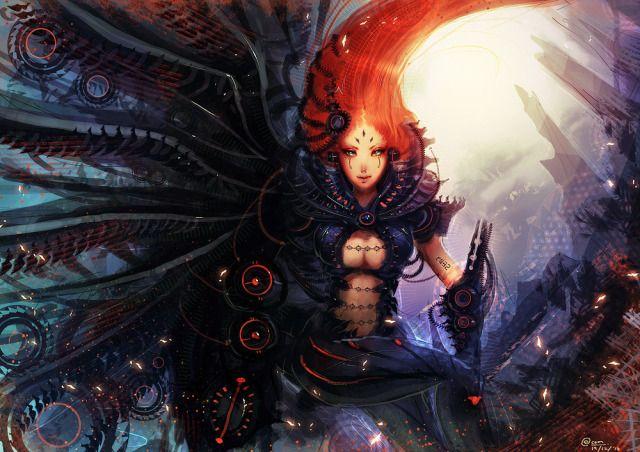 DIgital Era CF2010 Picture  (2d, sci-fi, girl, fantasy)
