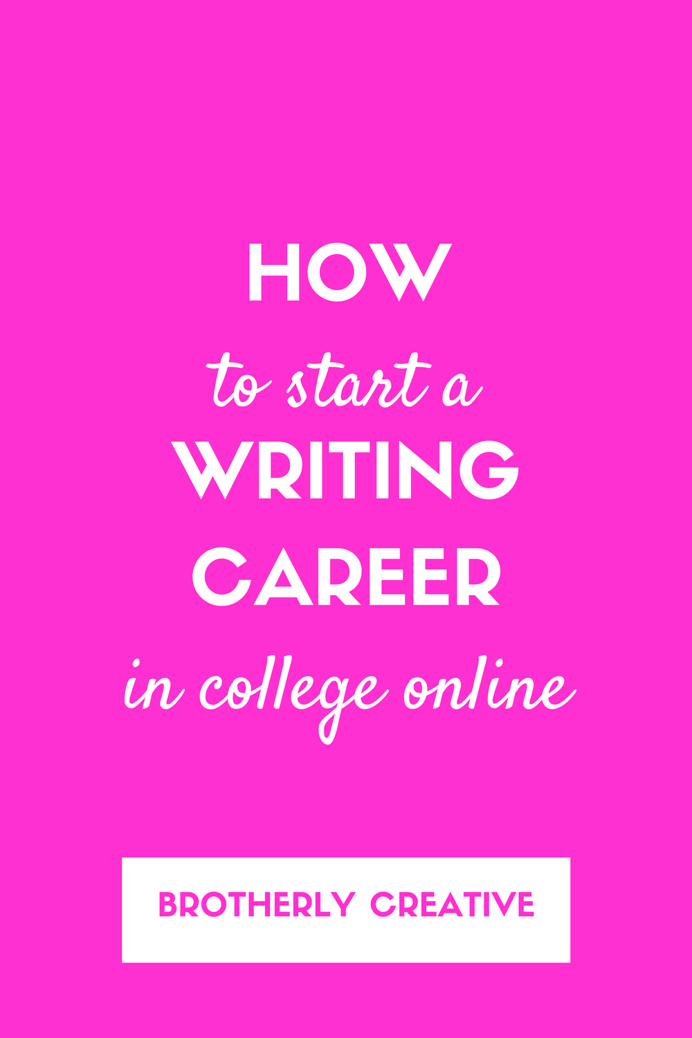 how to start a lance writing career for college students  how to start a lance writing career for college students