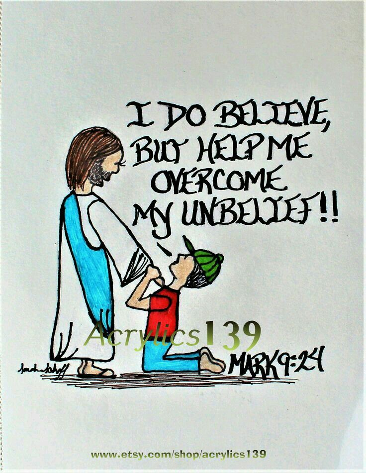 Mark 9:24 | Prayer | Scripture doodle, Bible scriptures, Bible quotes