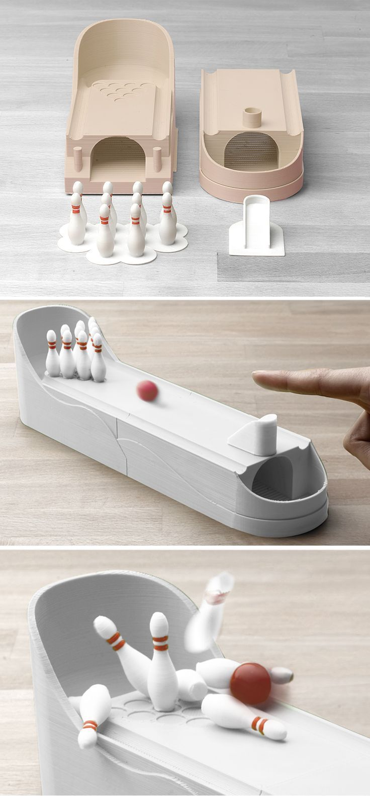 3D Printed Bowling by Matthijs Kok ️No Pin Limits ️More