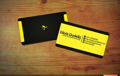 19 Cool Business Card Designs With Fantastic Font Use Business