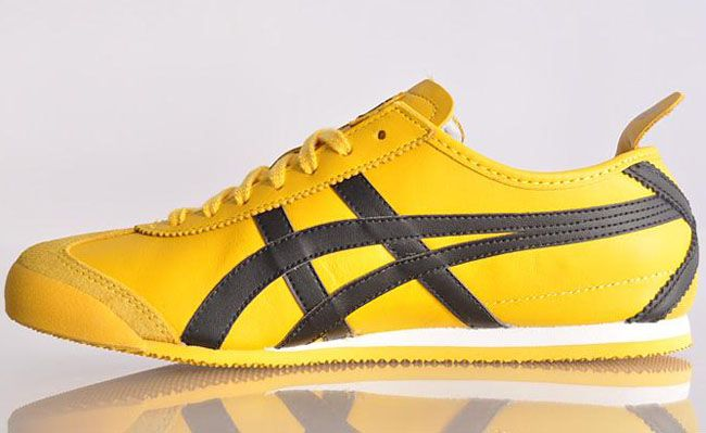 asics onitsuka tiger mexico 66 bruce lee yellow black shoes