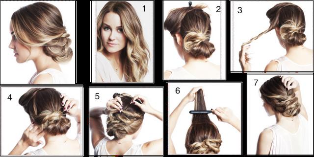 Amado Cabelos, cortes e penteados: Penteado Fácil- Cabelos Longos  ZB45