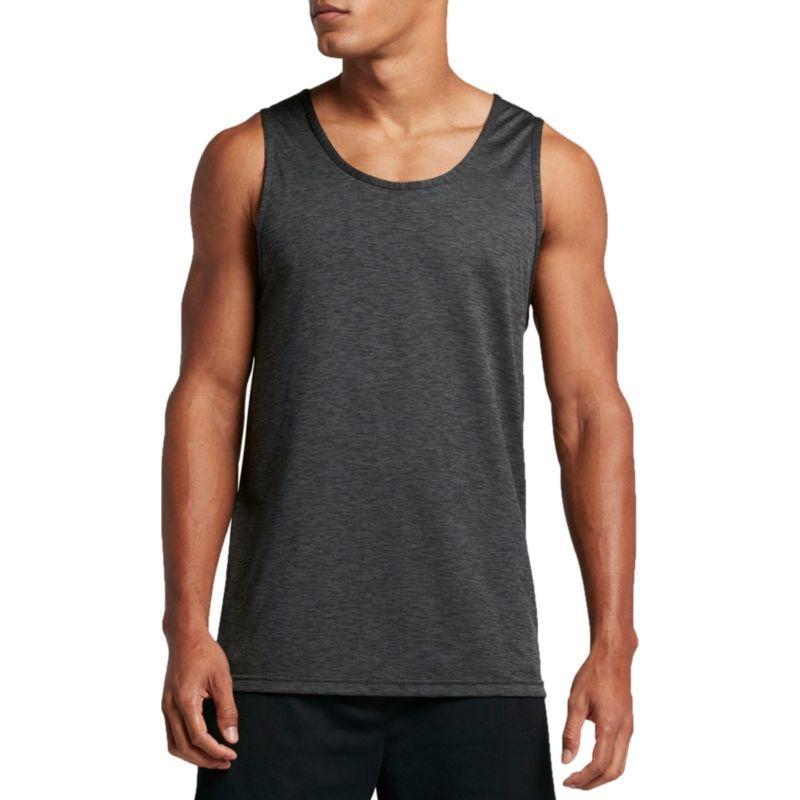 c0e7fa348 Nike Men's Hyper Dry Breathe Sleeveless Shirt, Size: Medium, Grey/Black