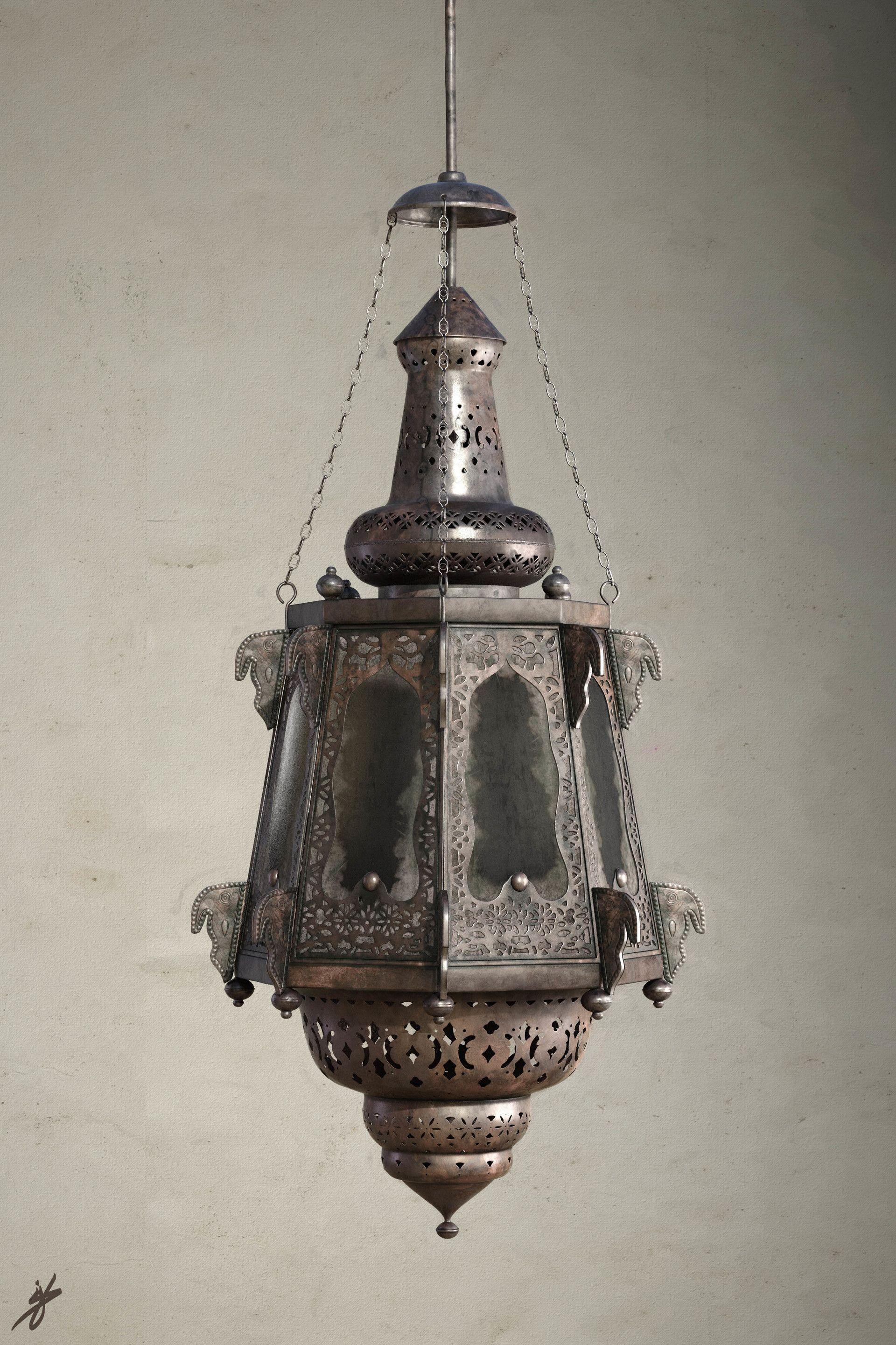 Artstation Islamic Chandelier Mohanad Hossam Chandelier Lanterns Islamic Lantern