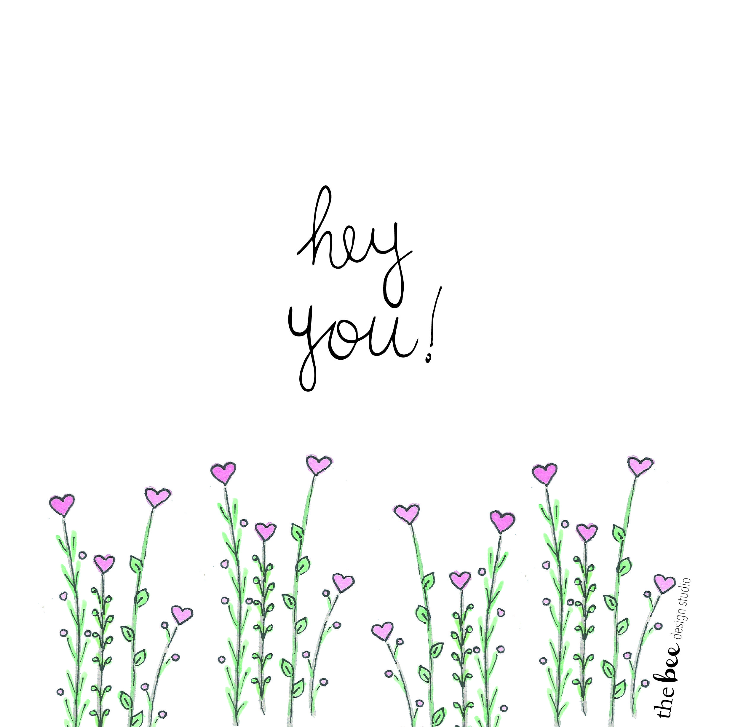 flowers love illustration watercolor quotes