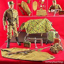 Vintage 1975 Action Man Medic w White Medic Tent Superb Palitoy Hasbro GI Joe  sc 1 st  Pinterest & VINTAGE GI JOE 1964 BIVOUAC DELUXE PUP TENT SET #7513 AND GI JOE ...