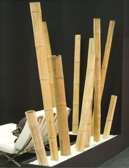 Ca as de bamb decorativas bamb ca a de bamb y ca as - Jardineras con bambu ...