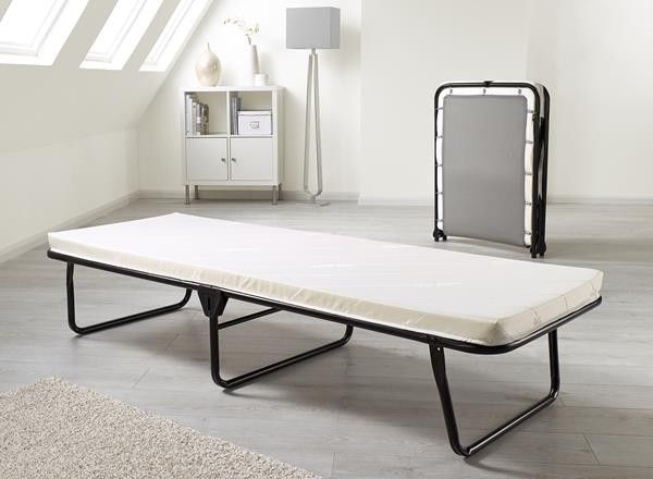 Jay Be Value Single Folding Guest Bed With Memory Foam Mattress