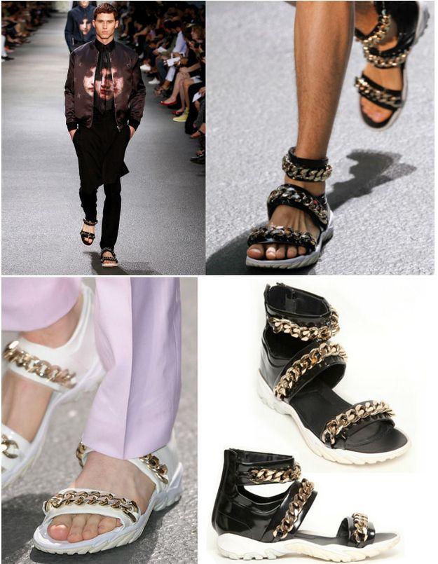 Givenchy Men S Gladiator Sandals Mens Accessories Vintage Givenchy Man Mens Accessories