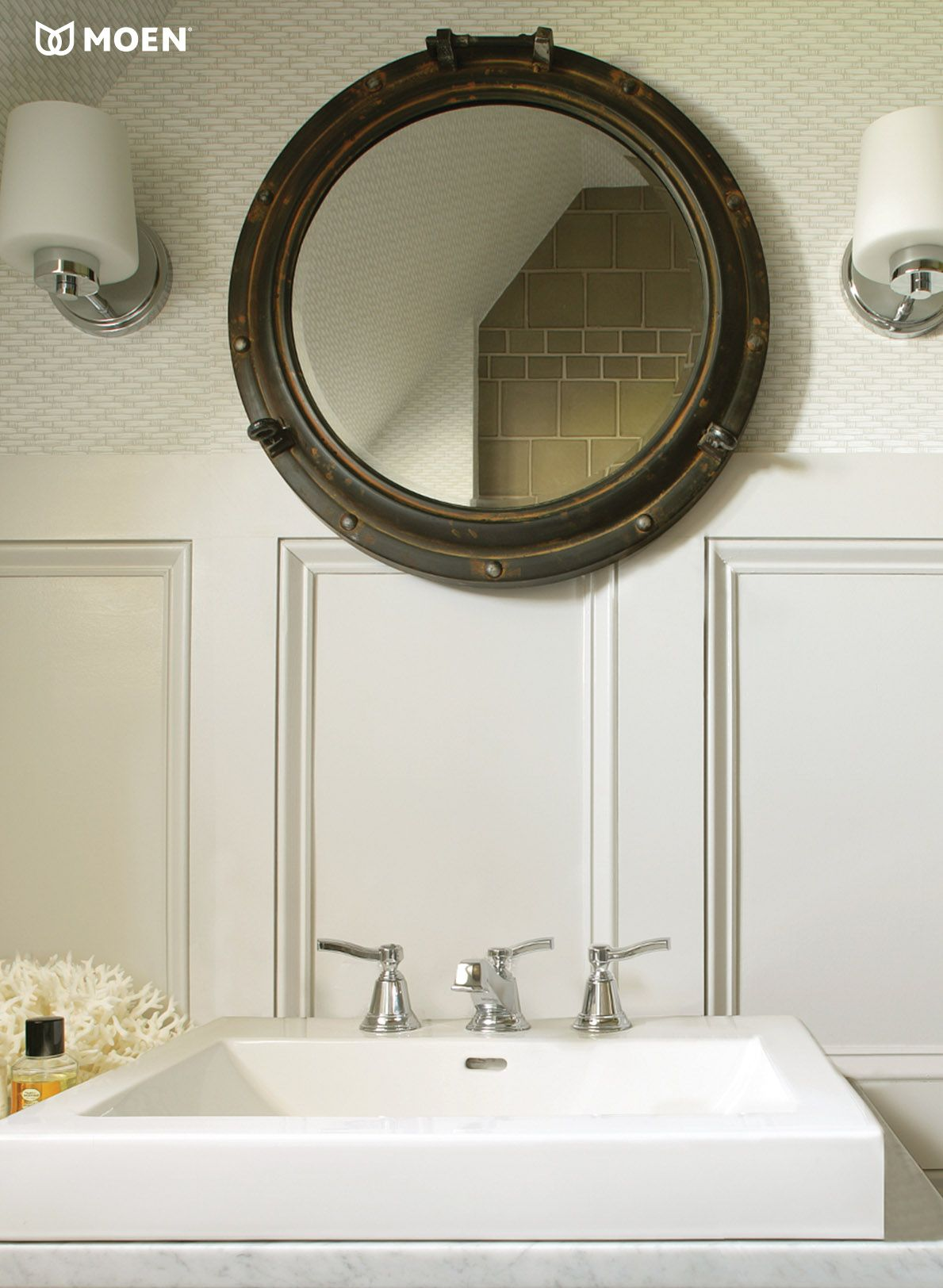 Salle De Bain Parement Beige ~ Our Rothbury Faucet Works Perfectly In This Early To Mid 20th