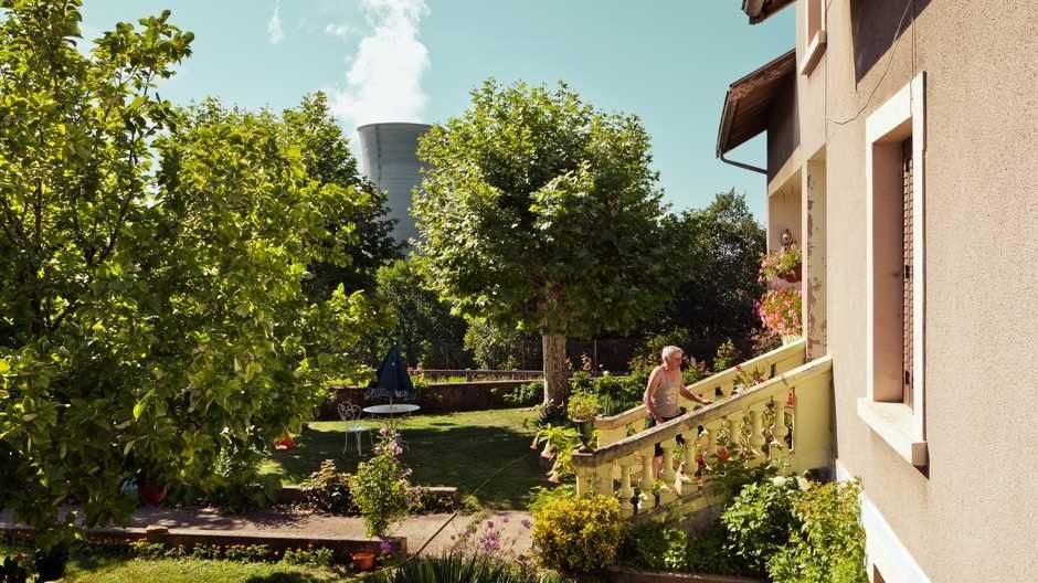 Andrea Pugiotto Captures The Life Near a Nuclear Power Plant in France #inspiration #photography