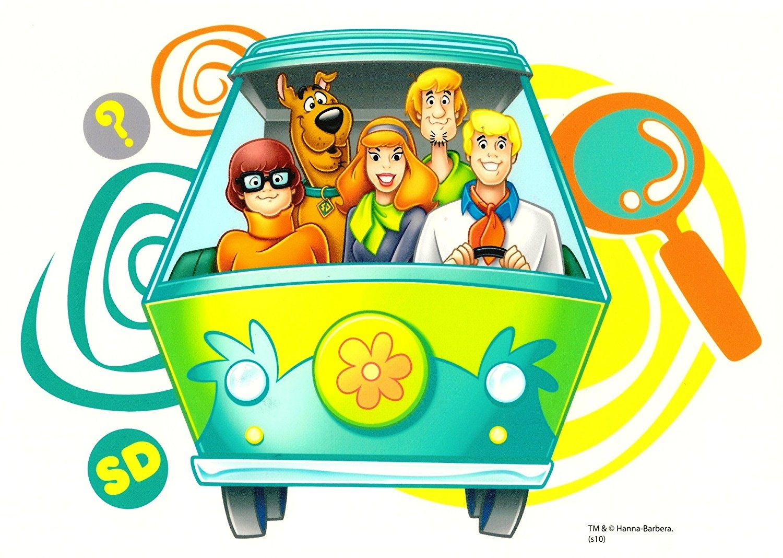 Scooby Doo Mystery Machine ~ Edible Image Cake / Cupcake ...