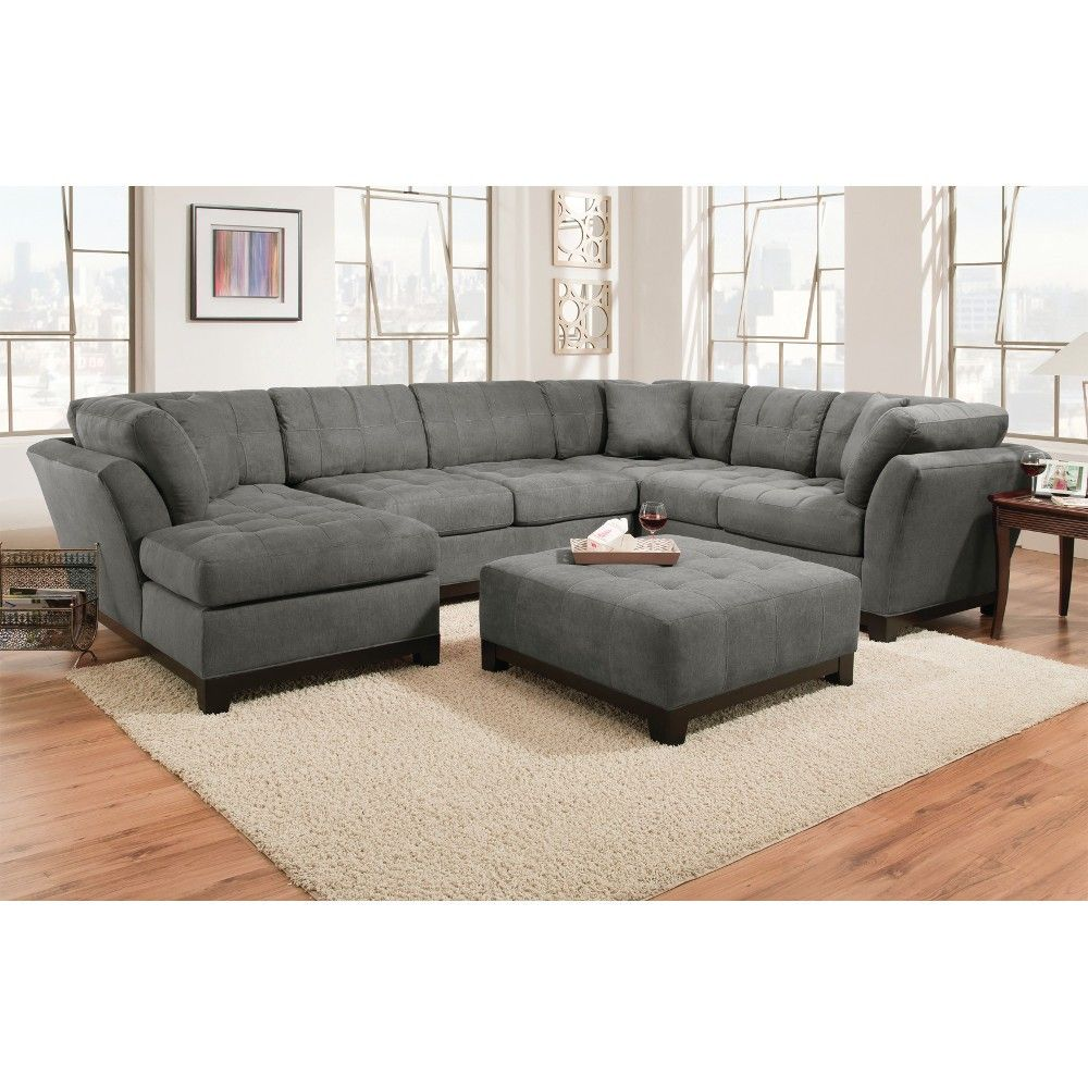 Manhattan Sectional Sofa Loveseat Lsf Chaise Slate