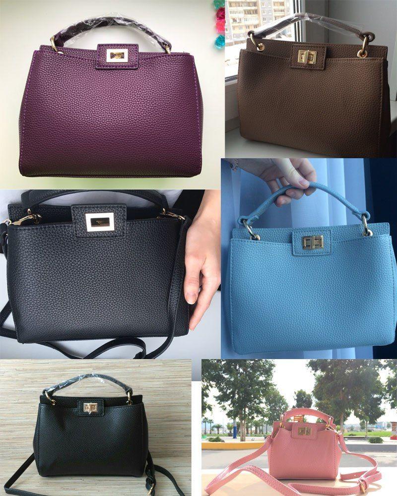 f7ef734279 2017 Fashion new Women PU Leather Handbags Litchi ladies messenger bag  crossbody bag Brand designer tote bag bolsos mujer de - TakoFashion -  Women s ...