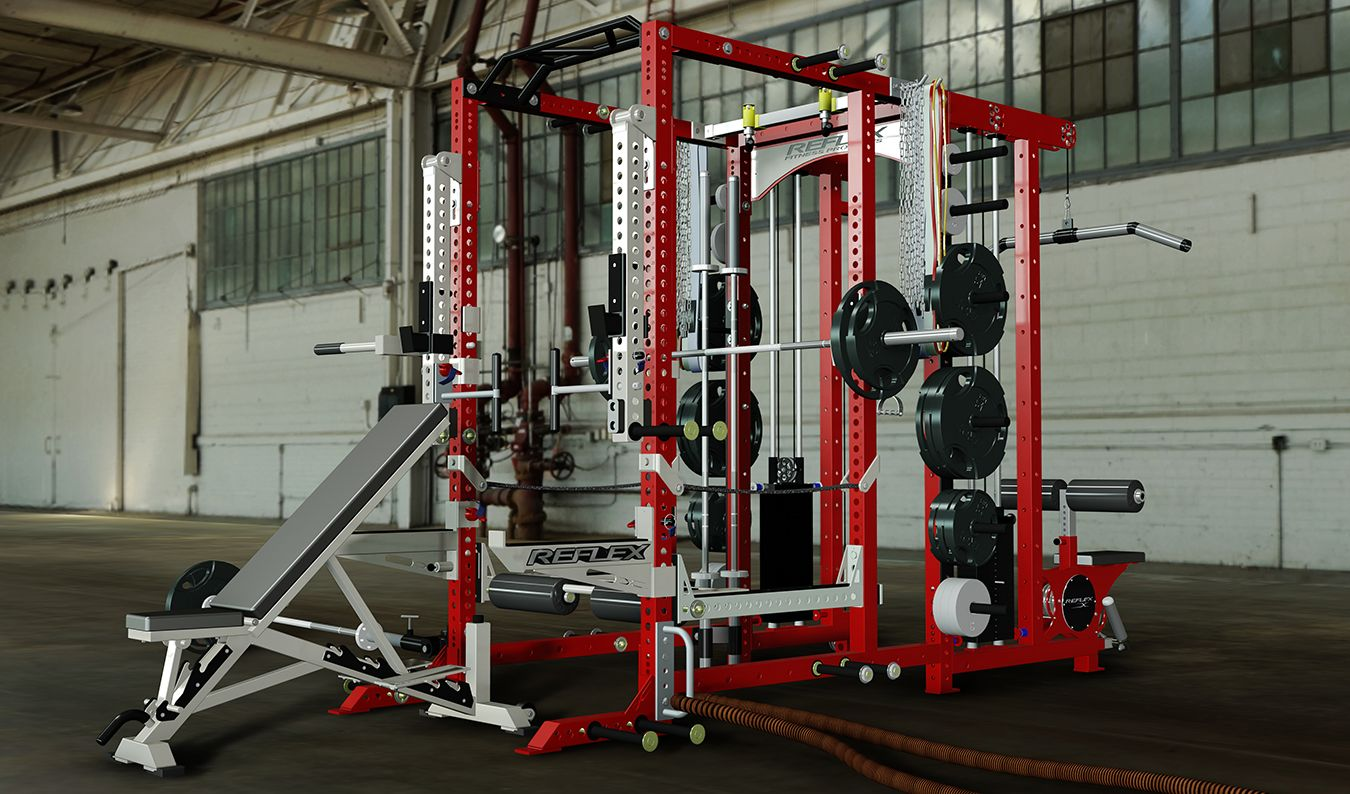 Reflex fitness g rack crypted molesting chambers home gym