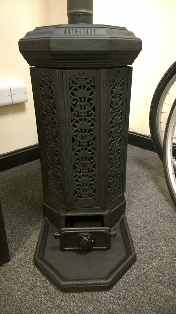 Excellent Condition French Godin Stove Wood Burner Solid Fuel