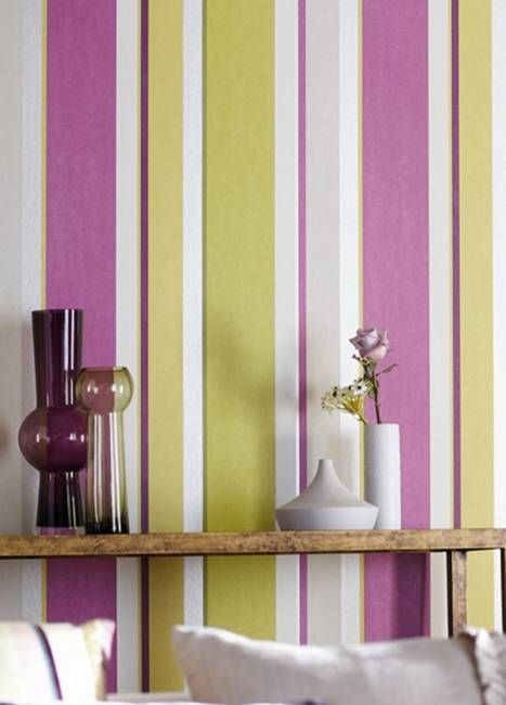 Vertical Stripes In Modern Interior Design 25 Room Decorating Ideas Striped Walls Striped
