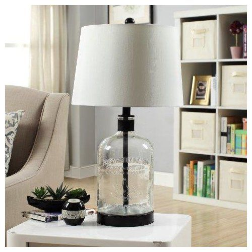 Found It At Wayfair Woodburn Metal And Glass 26 5 Table Lamp Lamps Living Room Metal Table Lamps Glass Table Lamp