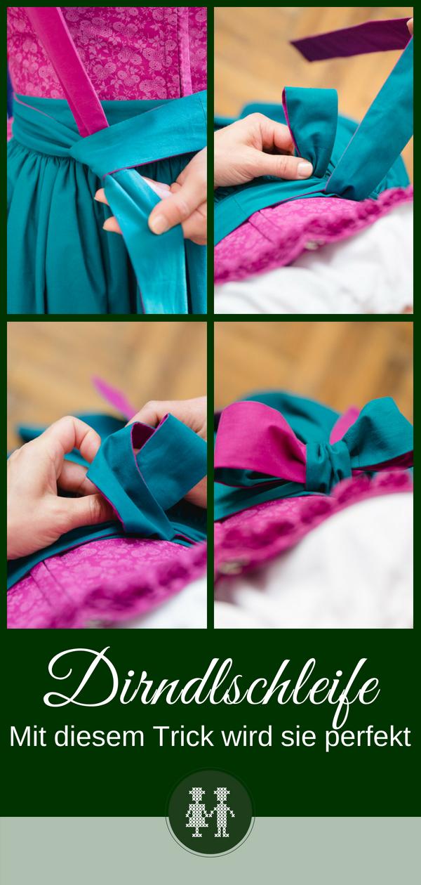 Die perfekte Dirndlschleife binden - So geht's! | Hochzeit ...