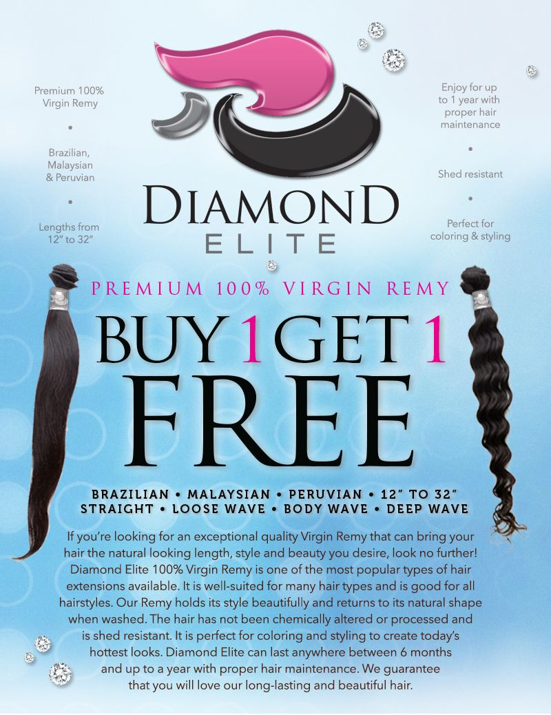 Diamond Elite is an exceptional quality Virgin Remy that can bring ...