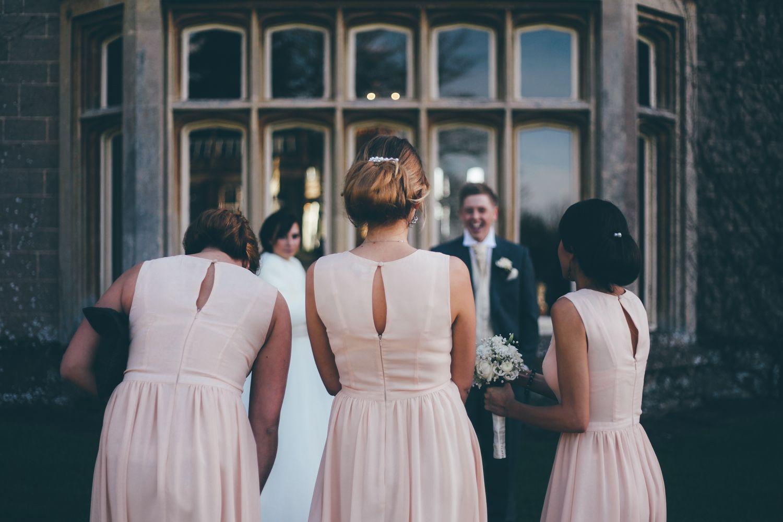 Bridesmaids. Somerset Wedding. St Audries Park Manor House, Taunton.