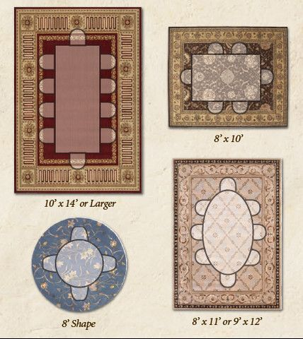 area rug size and placement easy how to diagrams dining room
