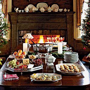 Christmas Buffet Menus.Healthy Holiday Menus Holidays Christmas Party Menu