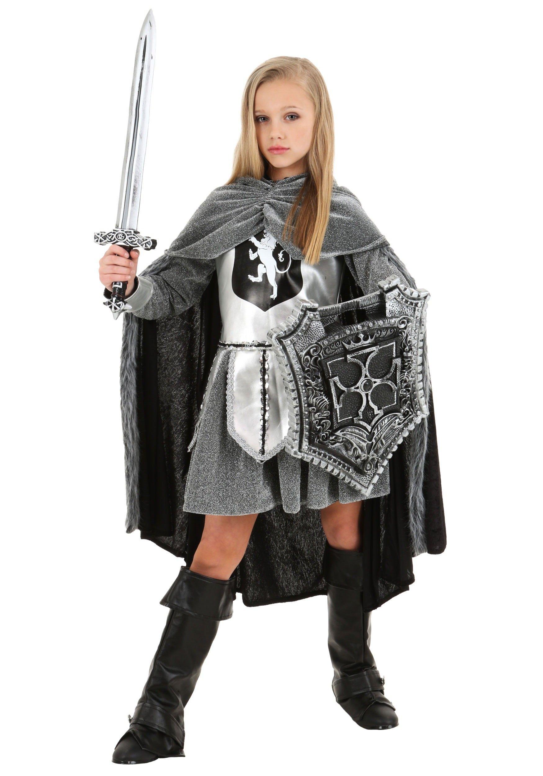 Knight Battle Armor Costume | Knight costume, Joan of arc ...