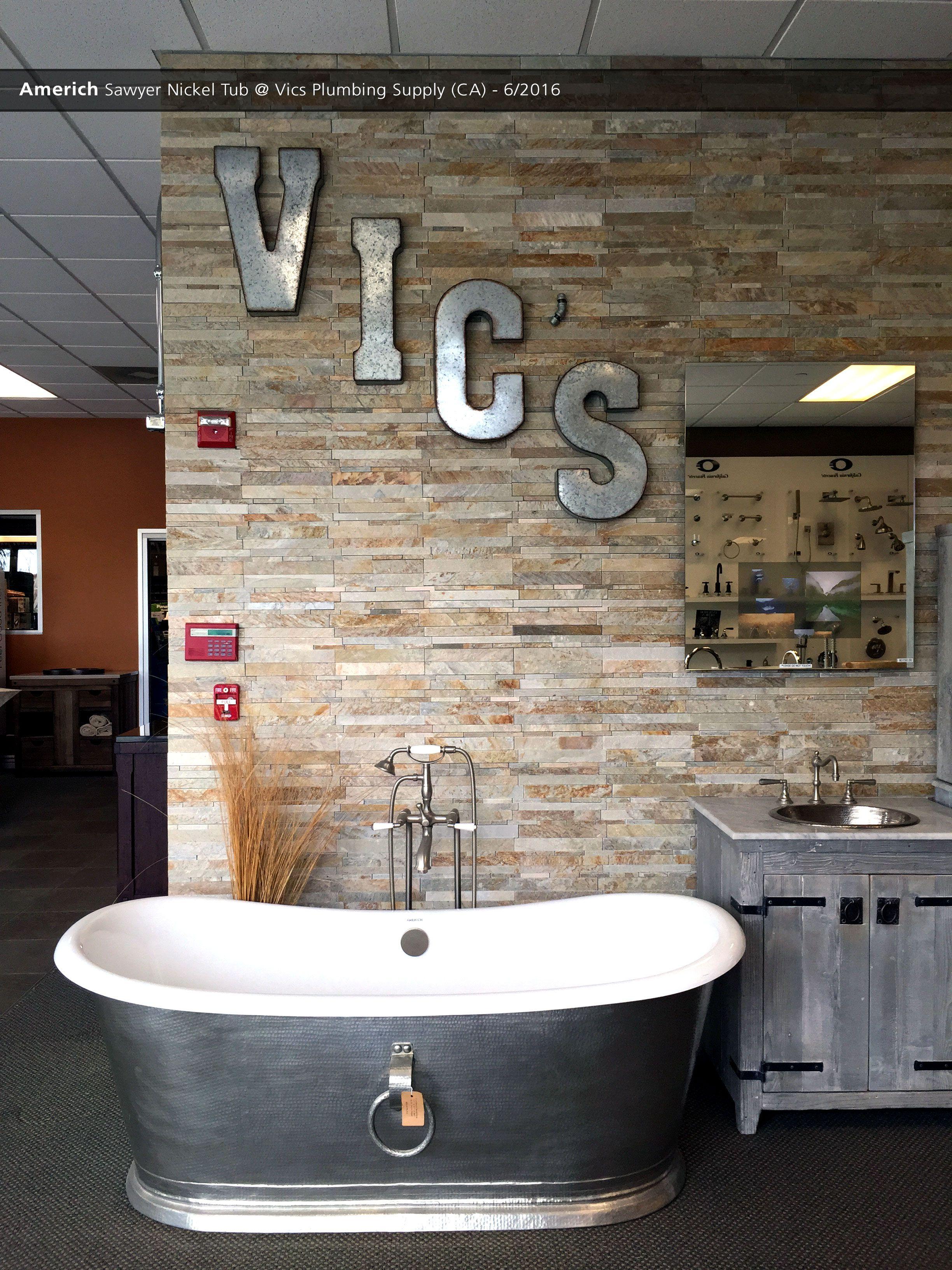 americh sawyer nickel tub vics plumbing supply ca 6 2016 rh pinterest com