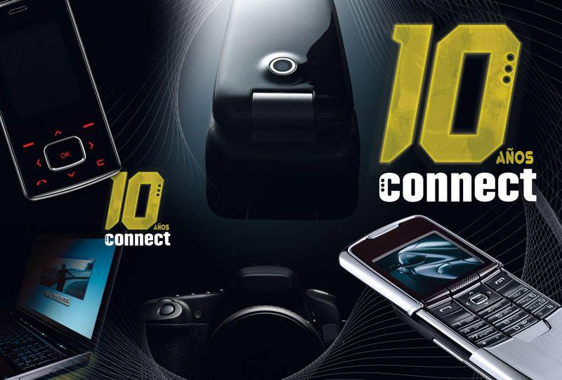 Portada y contra, Connect 10 años
