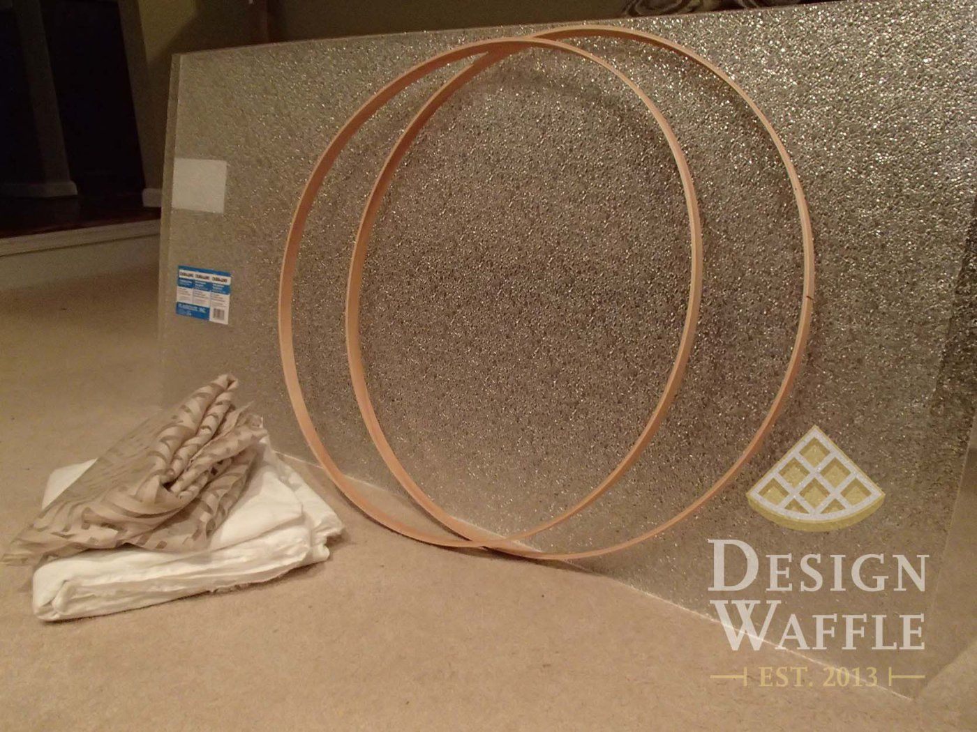 how to make your own lampshade from scratch
