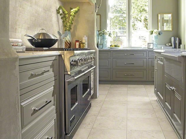 Tile And Stone Wall And Flooring Tiles Beige Tile Kitchen Beige Kitchen Kitchen Flooring