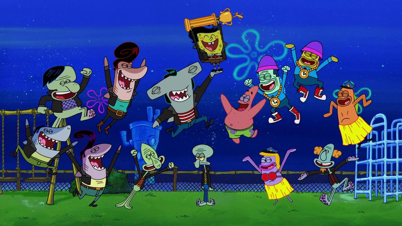 Sharks Vs Pods Gallery Cartoon Spongebob Squarepants