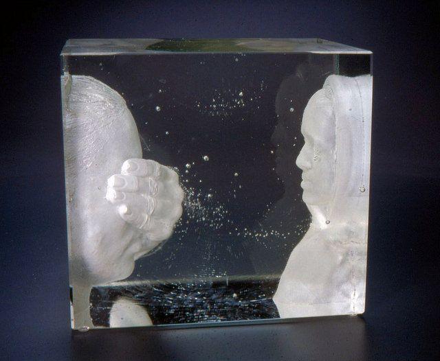 """Mirror"" John Littleton & Kate Vogel Exhibiting members in Glass"