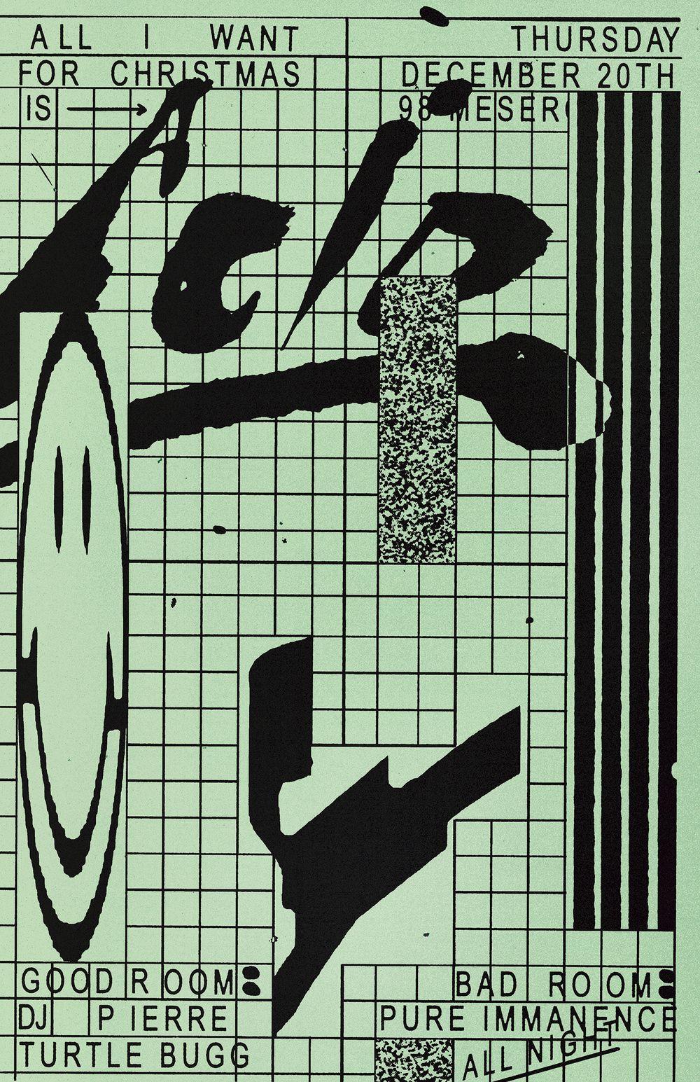 Bad Studio Music Artwork Grafik Design Face Drawing