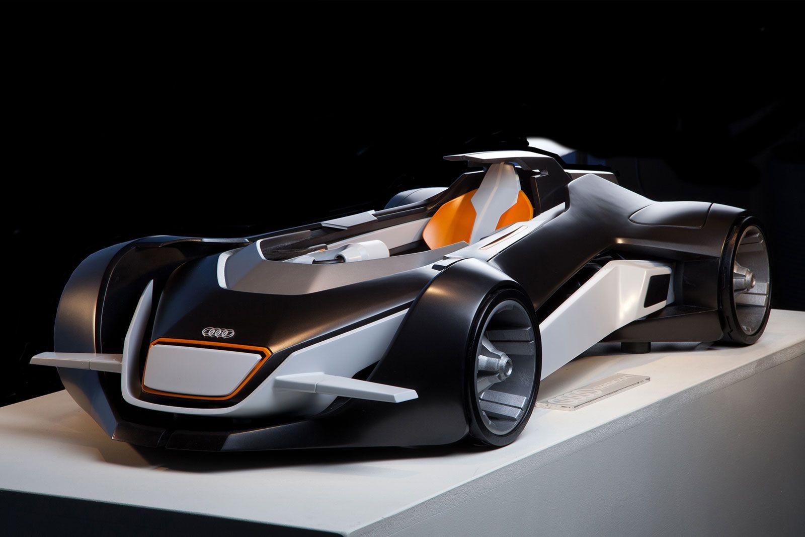 Audi Elite Concept Scale Model Car Body Design Audi Super Cars Car Model