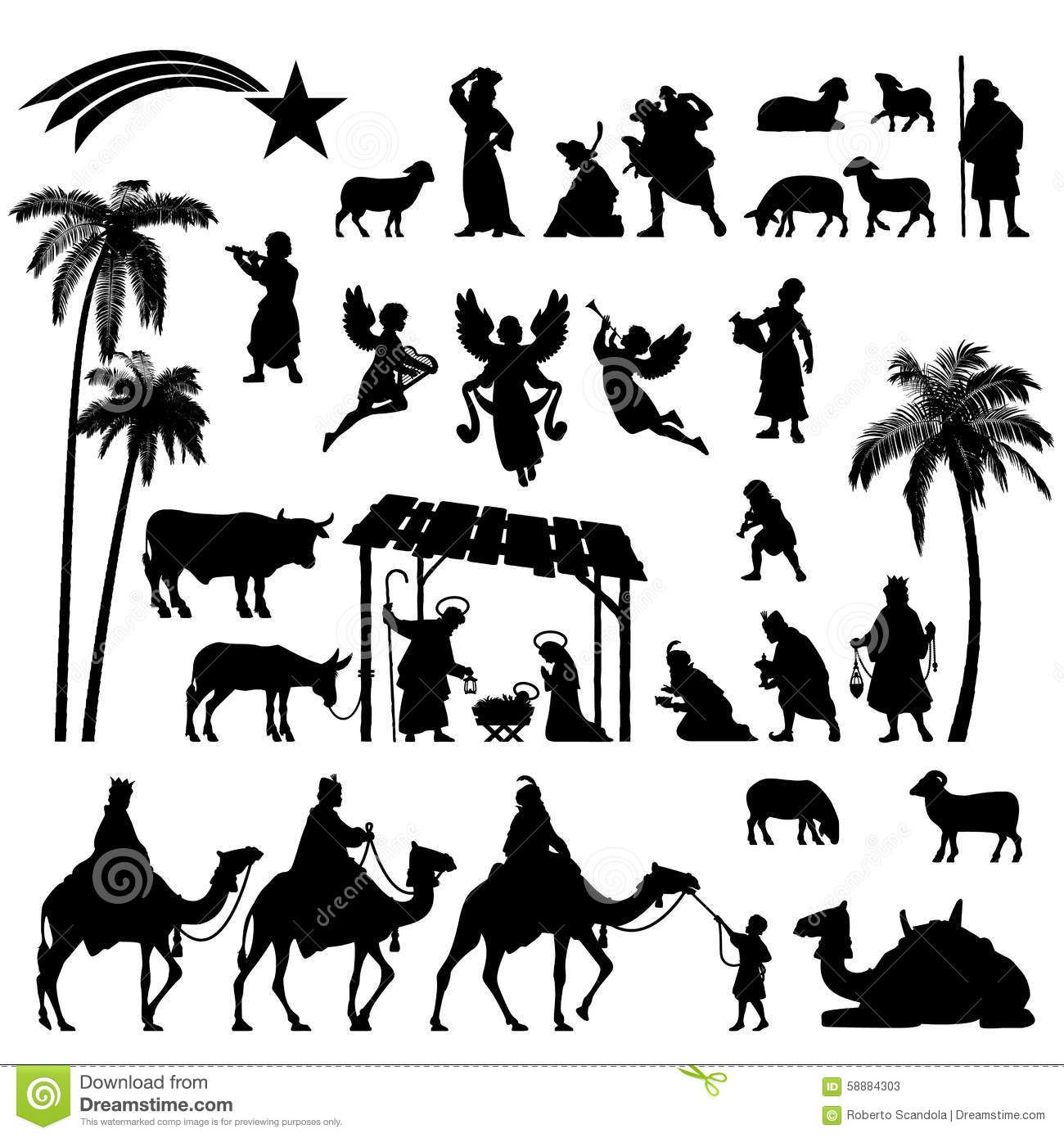 Bethlehem Silhouette Patterns Download